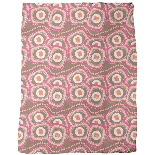 The Snakes Outback Breakfast Fleece Blanket