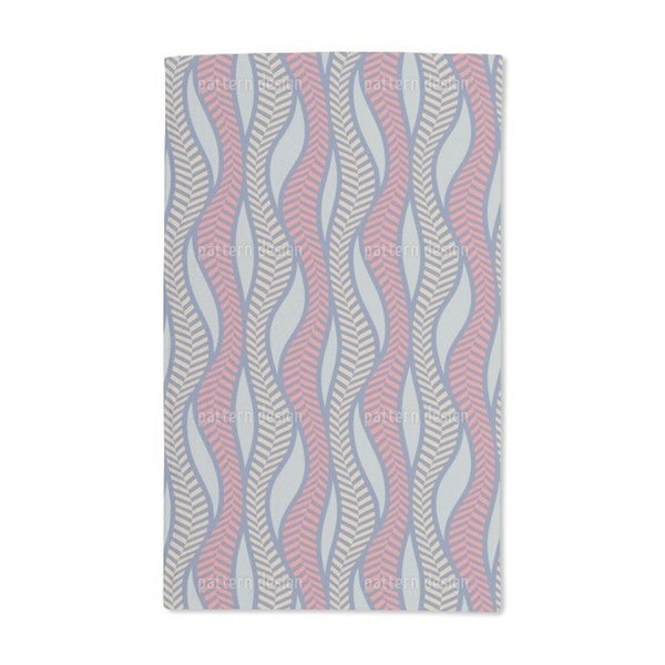Herringbone Fire Thicket Hand Towel (Set of 2)
