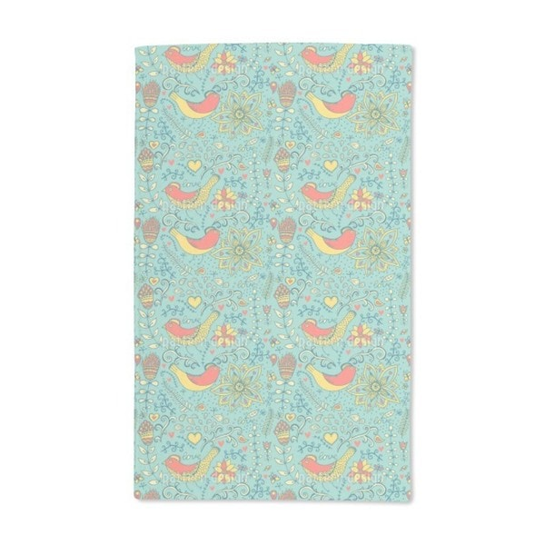 It Was the Nightingale Hand Towel (Set of 2)