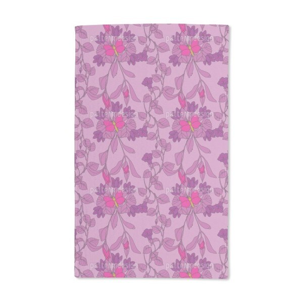 The Butterfly House Hand Towel (Set of 2)