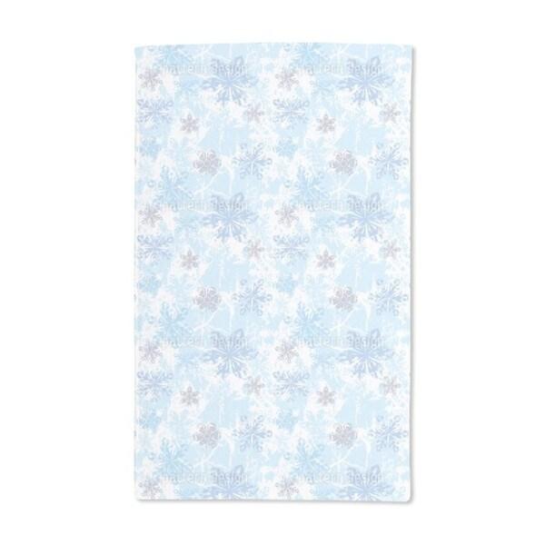 Sibiria Blue Hand Towel (Set of 2)