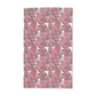 Camouflage Red Hand Towel (Set of 2)