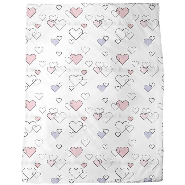 Heart Full Fleece Blanket