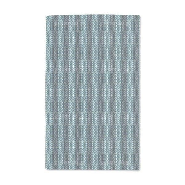 Ethno Rhombes on Stripes Hand Towel (Set of 2)