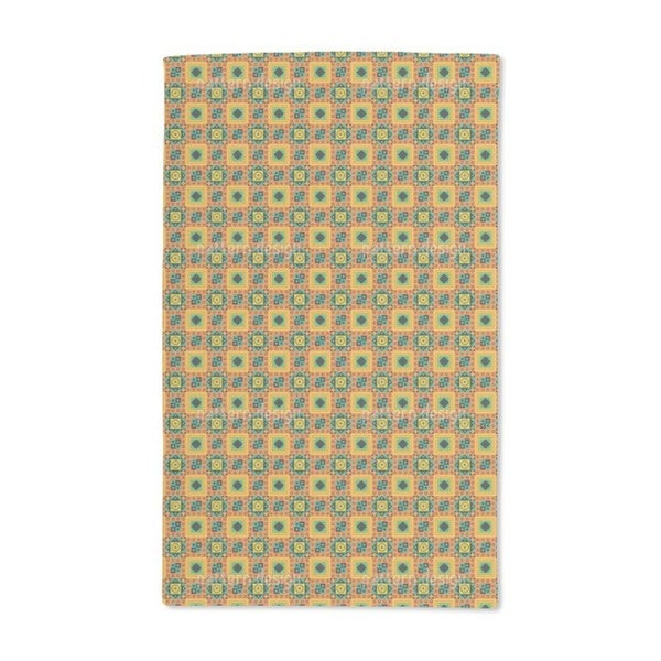 Ethno to the Square Hand Towel (Set of 2)