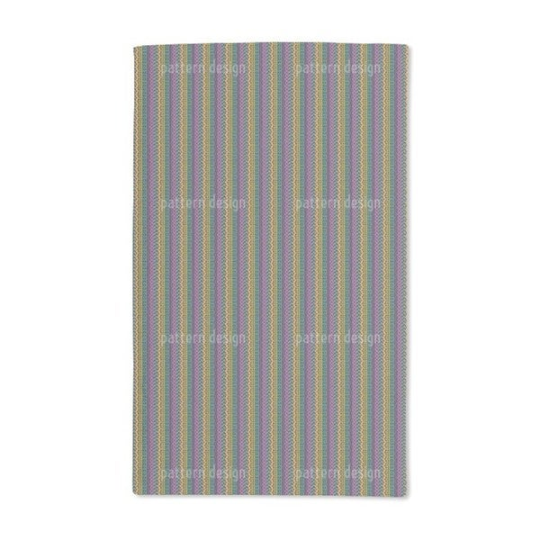 Intricate Ethno Stripes Hand Towel (Set of 2)