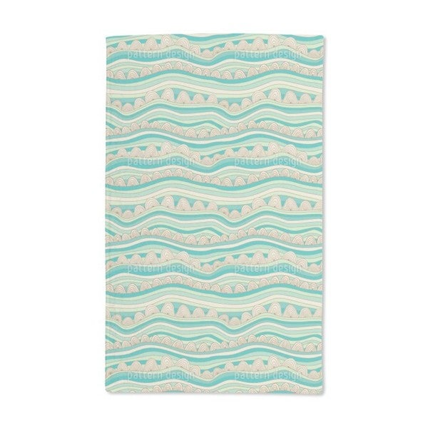 Waves in the Desert Sand Hand Towel (Set of 2)