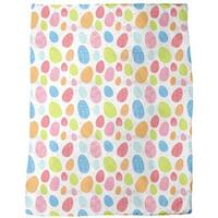 Eggs Dressed Up To Party Fleece Blanket