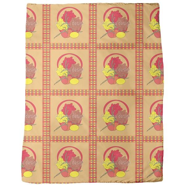 Easter Nest Fleece Blanket