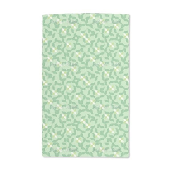 In the Sudoku Patch Hand Towel (Set of 2)