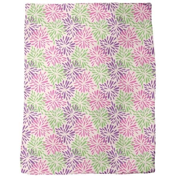 Color Explosion Fleece Blanket