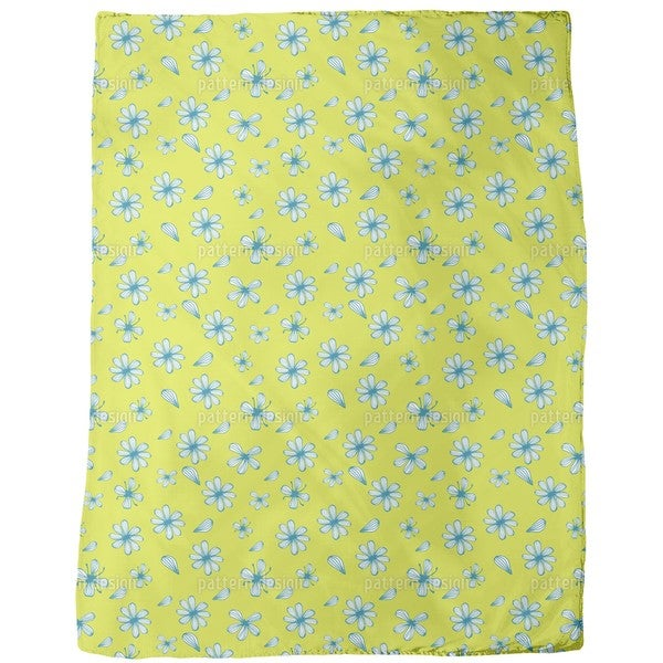 Petal Counting Fleece Blanket