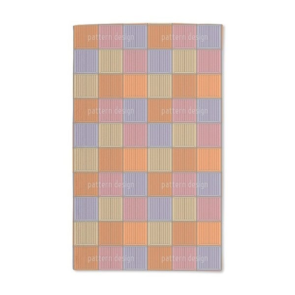 Container Colorful Loaded Hand Towel (Set of 2)