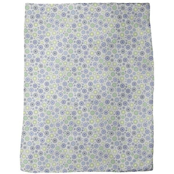 Flower Explosion Fleece Blanket