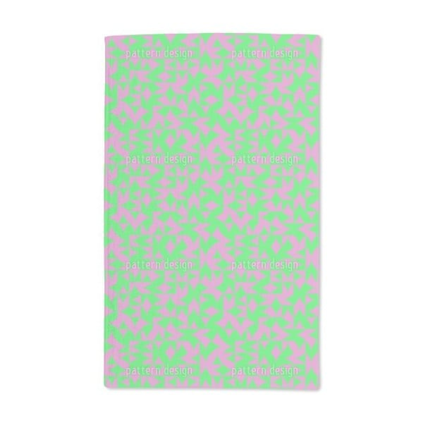 Eulatik Floral Express Hand Towel (Set of 2)