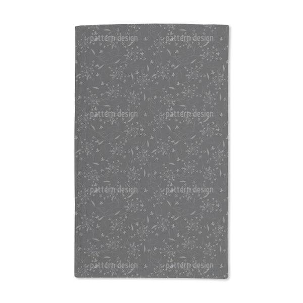 Floral Shower Hand Towel (Set of 2)