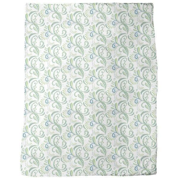 Cool Plants Fleece Blanket