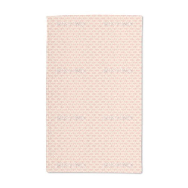 Rose Beauty in the Morning Hand Towel (Set of 2)