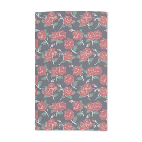 Classic Roses Hand Towel (Set of 2)