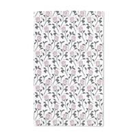 Snow White Roses Hand Towel (Set of 2)