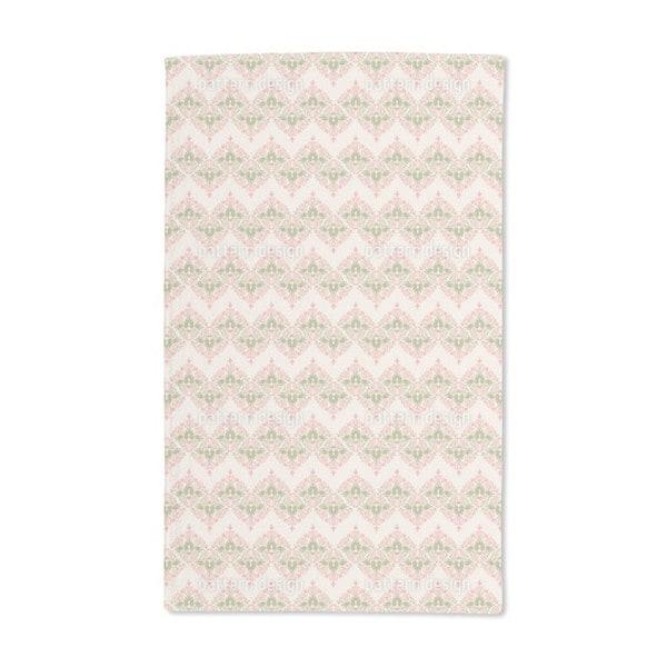 Vintage Floral Damask Hand Towel (Set of 2)