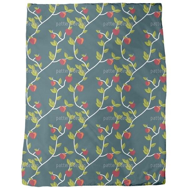Garden of Eden Night Fleece Blanket