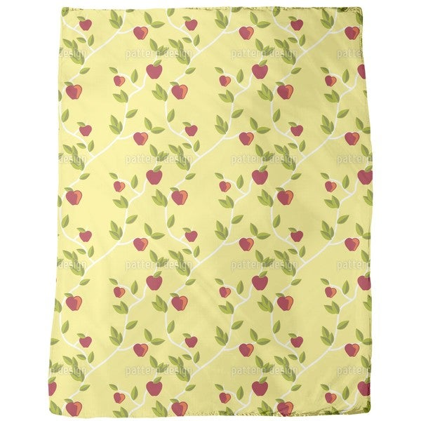 Garden Eden Fleece Blanket