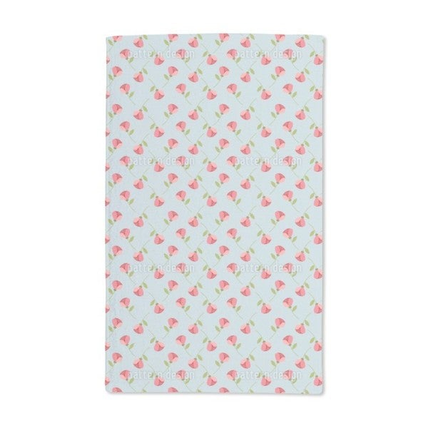 Tiny Roses Hand Towel (Set of 2)