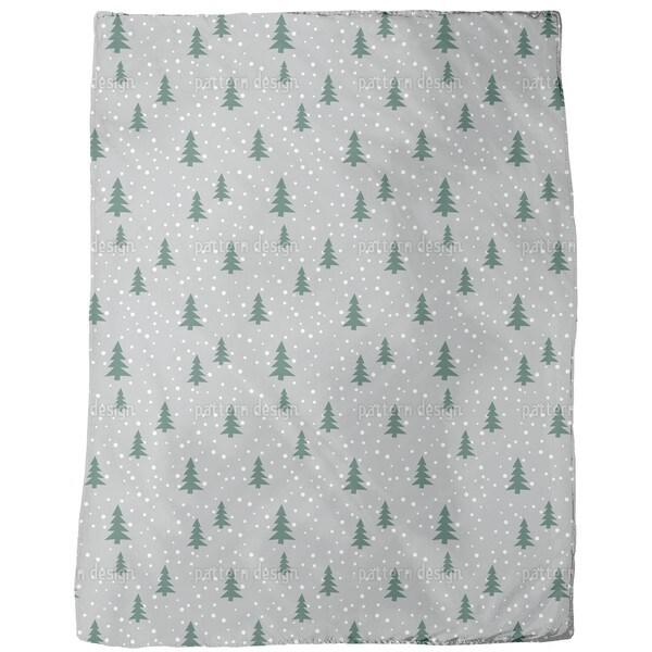 O Christmas Tree Fleece Blanket