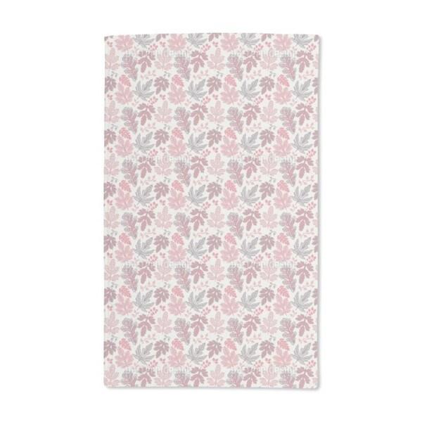 Leaf Romance Hand Towel (Set of 2)