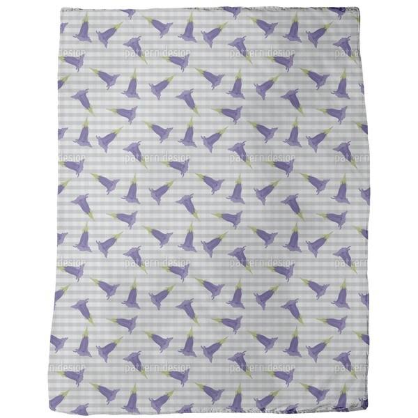 Gentian Fleece Blanket