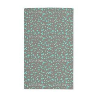 Chocolate Mint Splash Hand Towel (Set of 2)