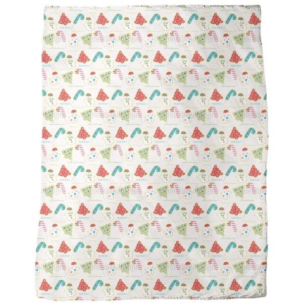 Sweet Christmas Fleece Blanket