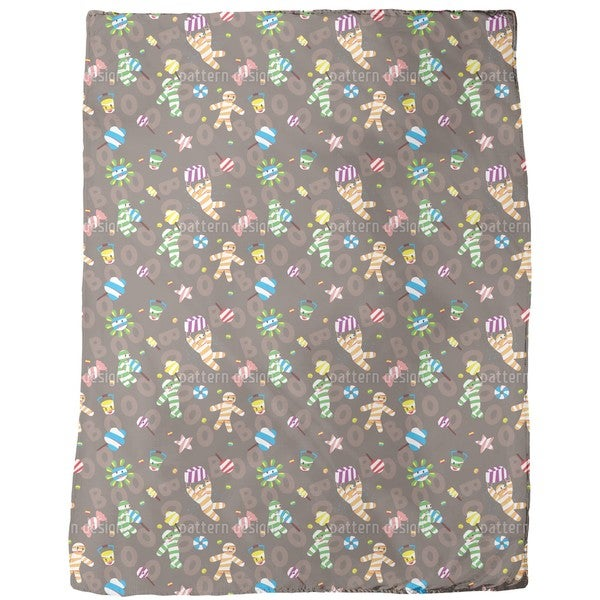 Mummy Boy Fleece Blanket