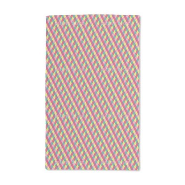 Circus Diamonds Hand Towel (Set of 2)