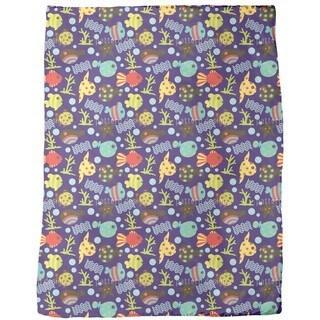 Waterworld Tiefsee Fleece Blanket