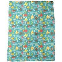 Waterworld Reef Fleece Blanket