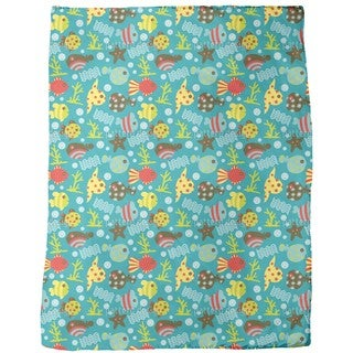Waterworld Reef Fleece Blanket
