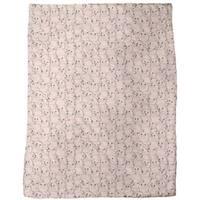 Piggy Button Eyes Party Fleece Blanket