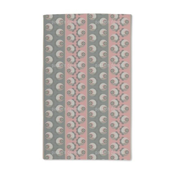 Shade of Roses Hand Towel (Set of 2)