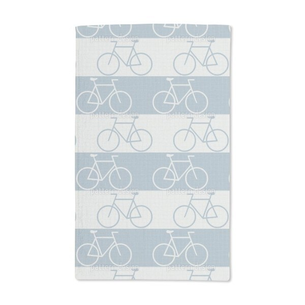 Cycle Paths Hand Towel (Set of 2)
