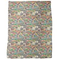 Favela Fleece Blanket