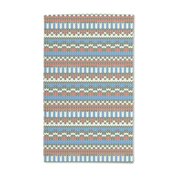 Striped Knitting Hand Towel (Set of 2)