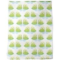Twin Frogs Fleece Blanket