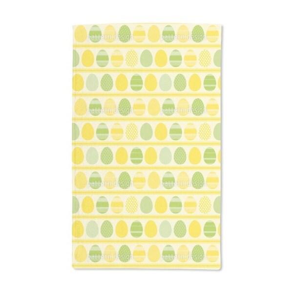 Easter Eggs Light Hand Towel (Set of 2)