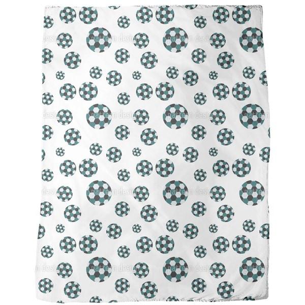 Soccer Fleece Blanket