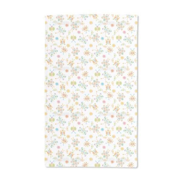 Colorful Tingle Tangle Hand Towel (Set of 2)