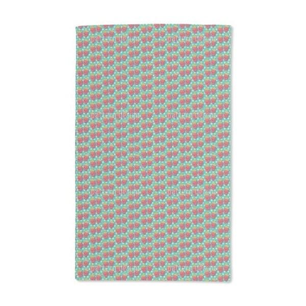 Kawaii Strawberry Hand Towel (Set of 2)