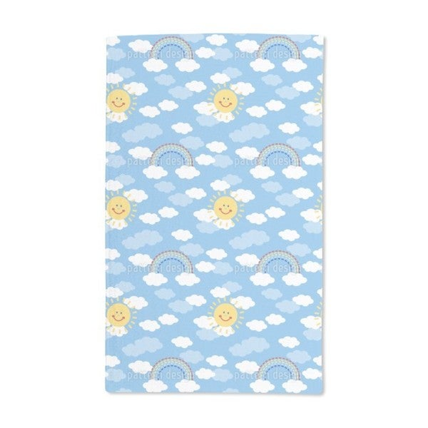 Sunshine and Rainbows Hand Towel (Set of 2)