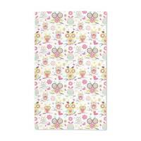 Owl Family Hand Towel (Set of 2)